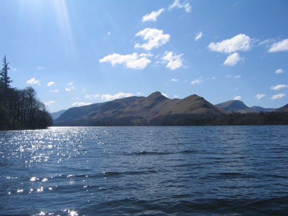 Cat bells from Derwent Water
