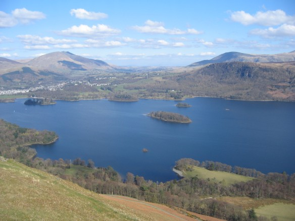 View of Derwent Water from Cat Bells
