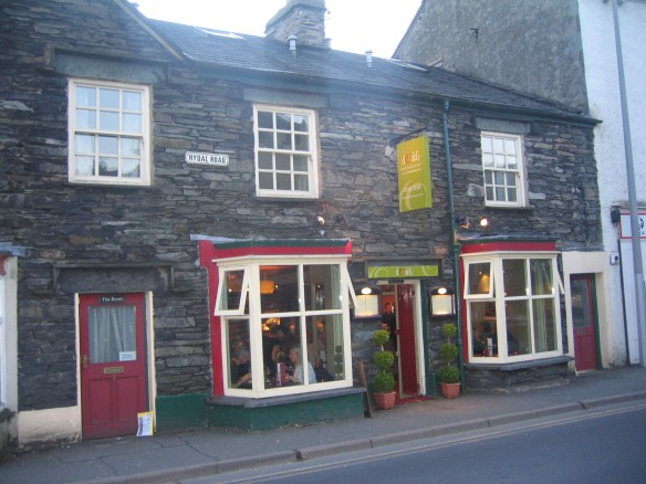Dodds resteraunt, Ambleside - great food at a good price