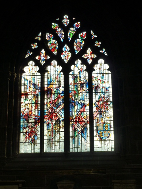 One Of The Windows In Nave South Wall