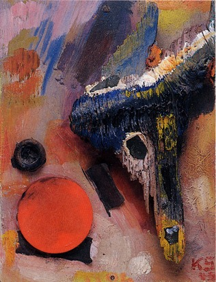 Kurt Schwitters - Flight