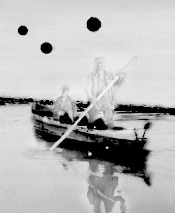 """122008: """"Boot"""" (Boat), 2008, Inkjet,180 x 150 cm"""