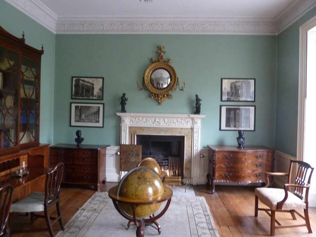 Guests Would Be Entertained Here In The Main Drawing Room On First Floor Grandest House It Appears As If Is At Back Of