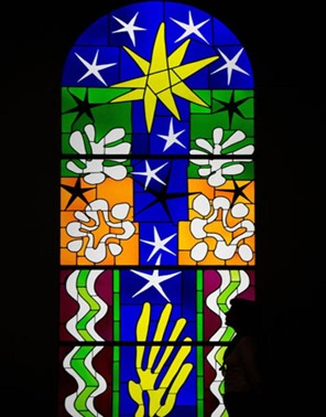 matisse stained glass