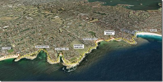 bondi map