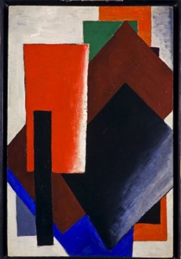 Lyubov Popova Painterly Architectonic