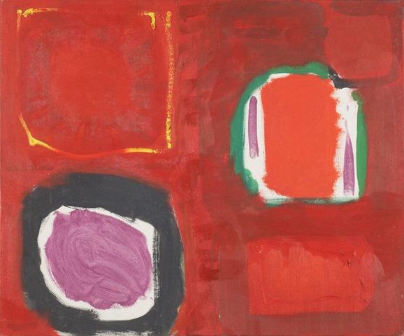 Patrick Heron, Red Painting October 1959, 1959