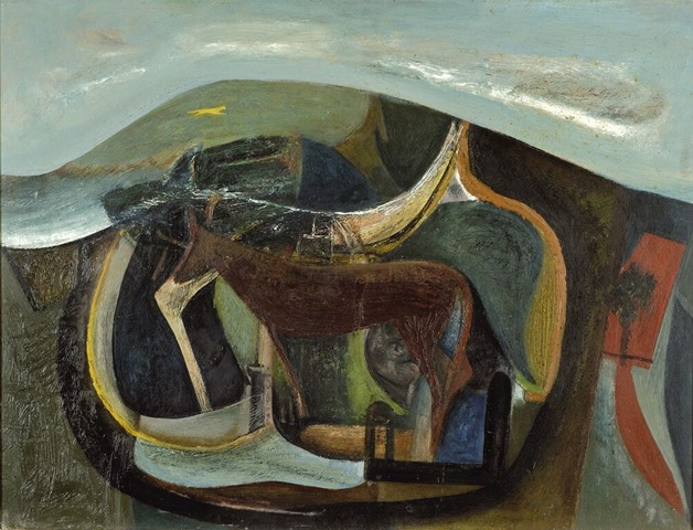 Peter Lanyon, The Yellow Runner, 1946