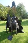 Pair of Walking Figure: Jubiee by Lynn Chadwick