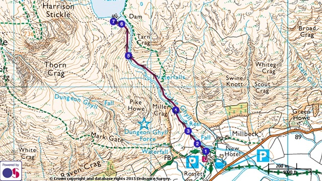 stickle-ghyll-trail-map