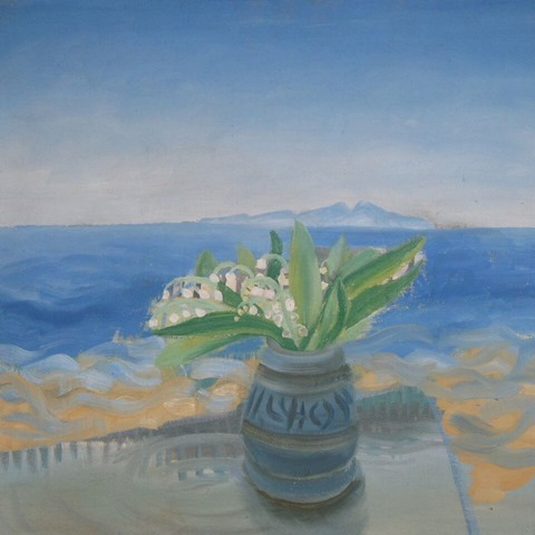 Winifred Nicholson, Lily of the Valley, St. Bees, 1940