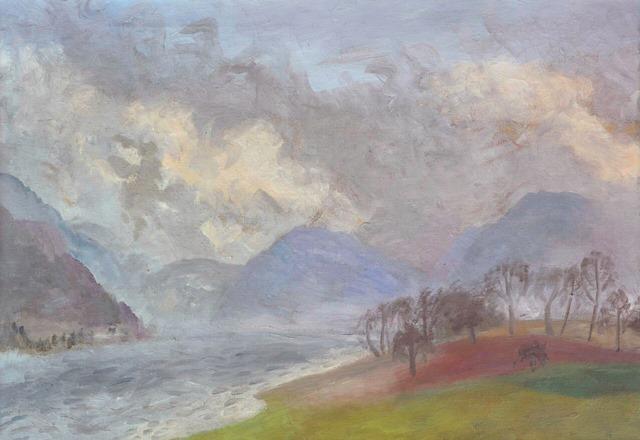 Winifred Nicholson, Ullswater, c1949s