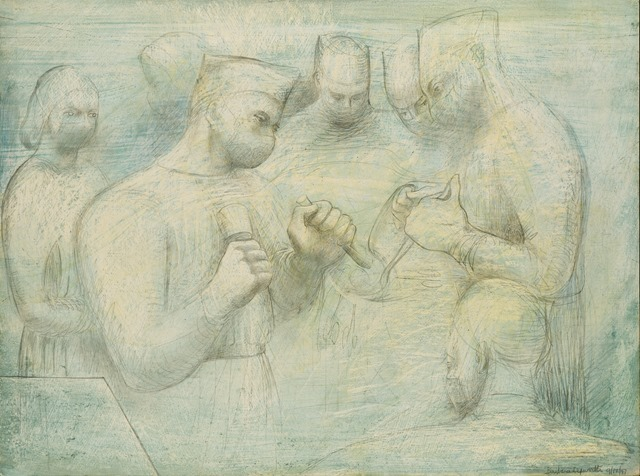 Barbara Hepworth, Reconstruction, Arts Council Collection, Southbank Centre, London © Bowness, Hepworth Estate