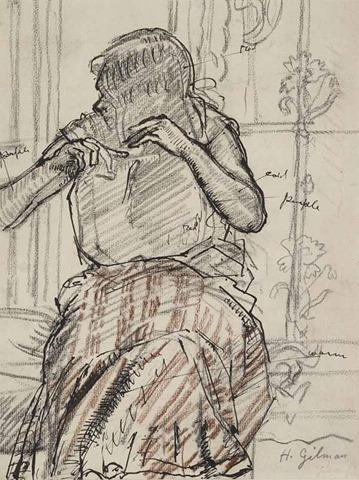 Harold Gilman. Arts Council Collection, Southbank Centre, London