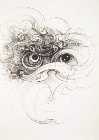 Mimei Thompson, Liquid Portrait 4, Arts Council Collection, Southbank Centre, London © the artist