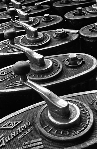 Control levers, 1930