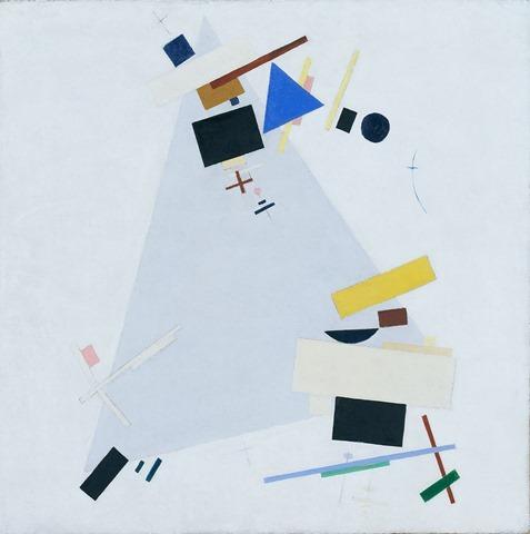 Kazimir Malevich, Dynamic Suprematism Supremus
