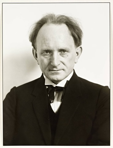 Sander August, Self-Portrait, 1925