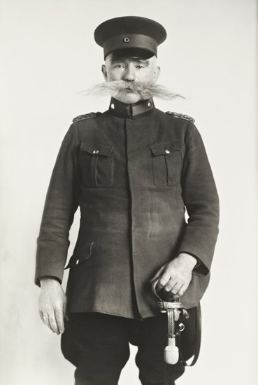 August Sander, Police Officer and Master of the Watch, 1925