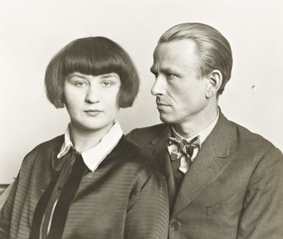 August Sander, The Painter Otto Dix and his Wife Martha, 1925/26