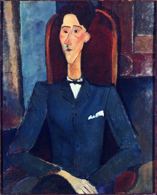 1916,_Modigliani,_Jean_Cocteau