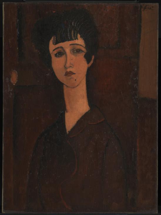 Portrait of a Girl c.1917 by Amedeo Modigliani 1884-1920
